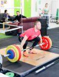 Weightlifting Platform Action