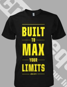 built to max your limits - front